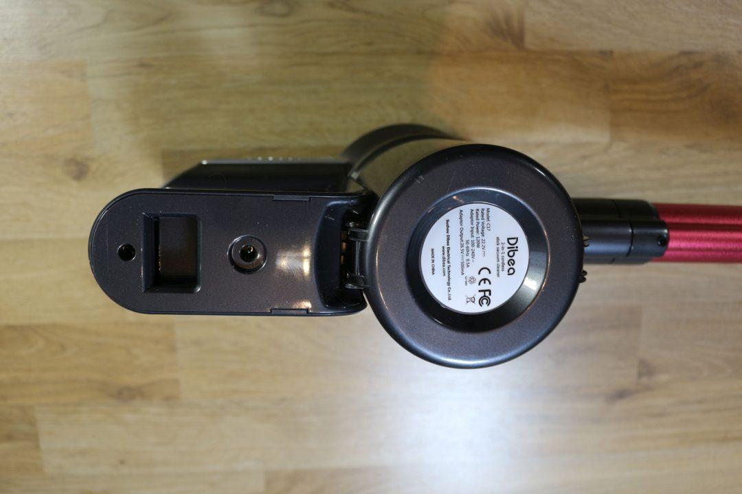 Dibea C17 vezetéknélküli porszívó – Le a régi darabokkal
